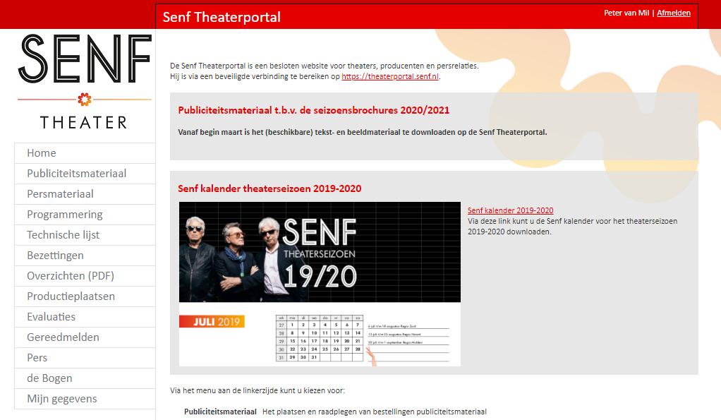 Senf Theaterportal